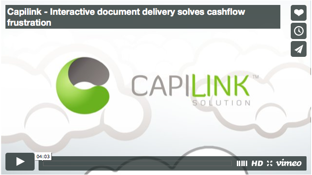 Interactive document delivery solves cashflow frustration