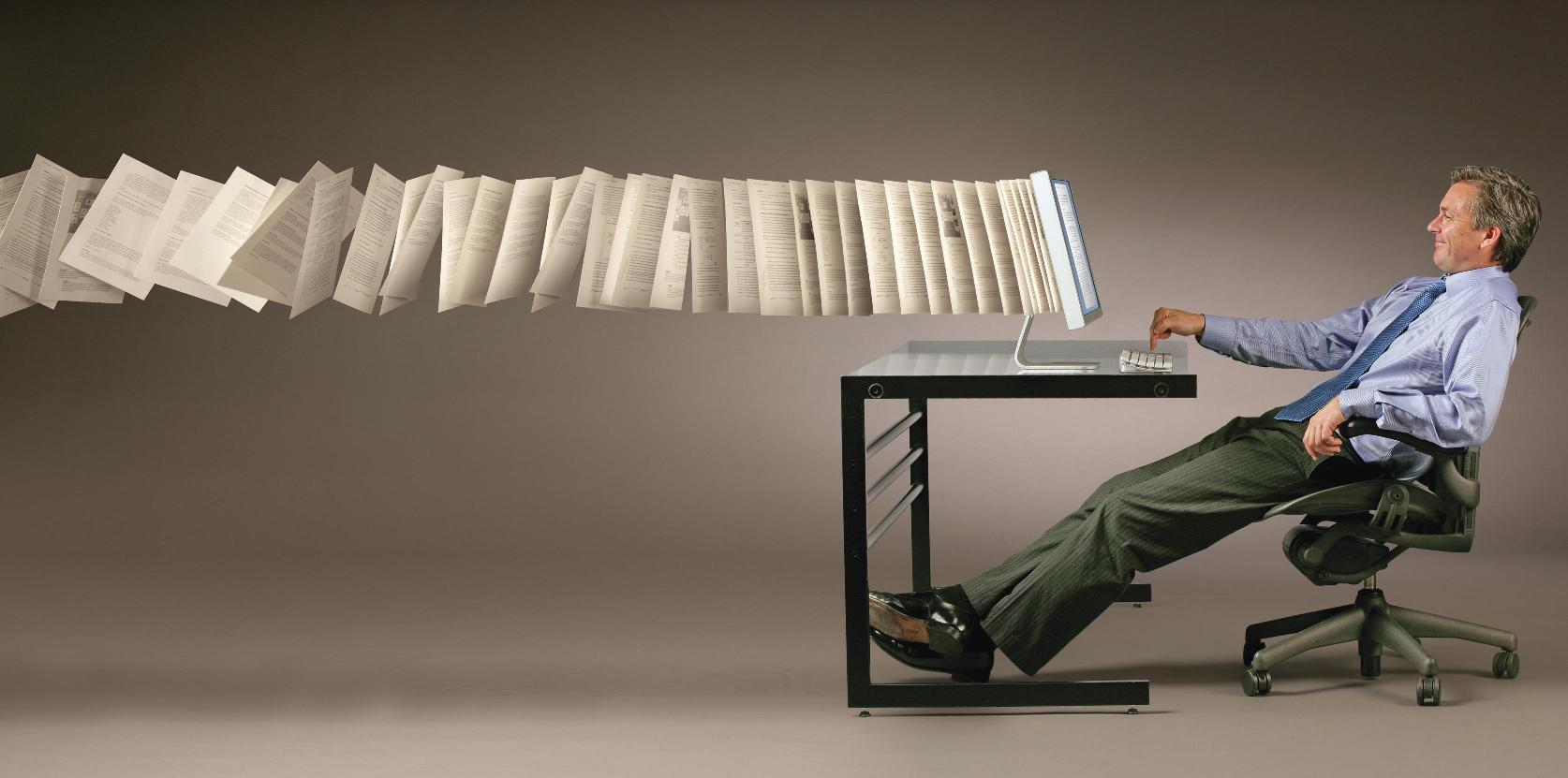Don't get left behind.. Choose Paperless today